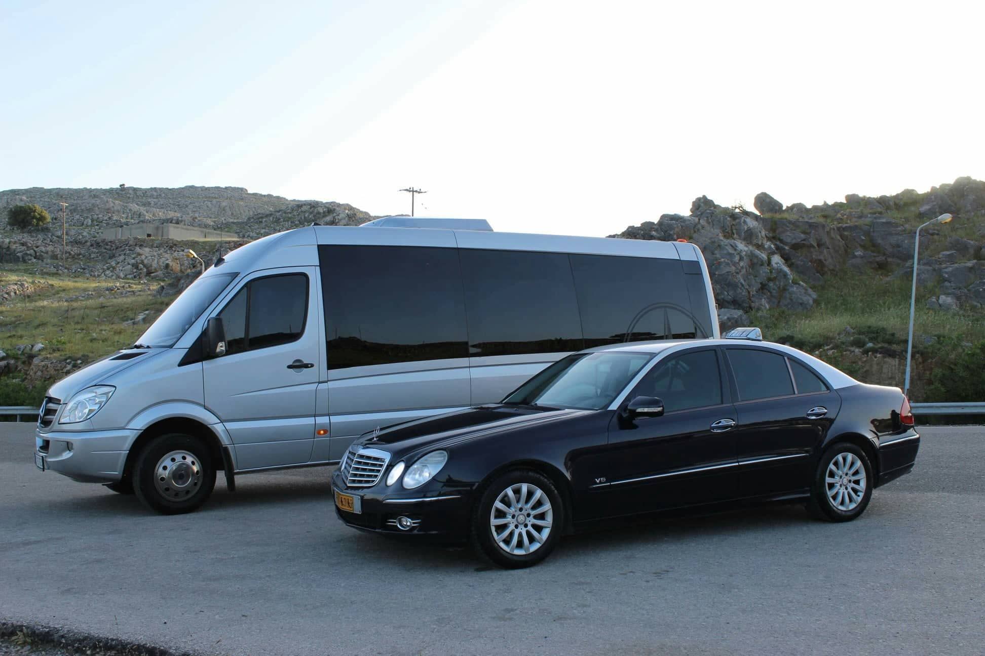 get yout taxi and transfer in rhodes island
