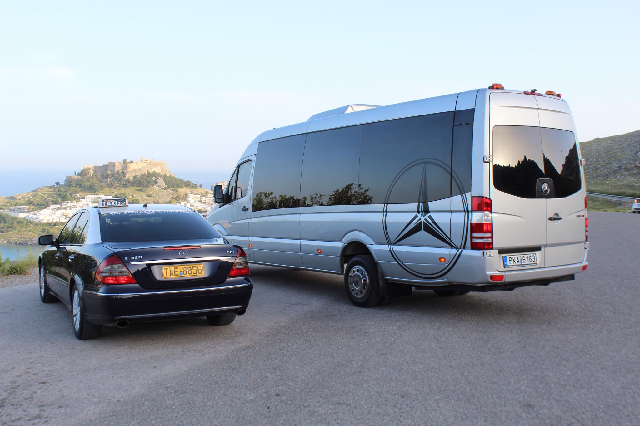 rhodes island transfers minbus and taxi